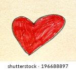 heart symbol | Shutterstock . vector #196688897