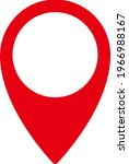 location vector icon isolated... | Shutterstock .eps vector #1966988167