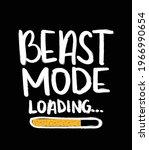 beast mode loading text ...   Shutterstock .eps vector #1966990654