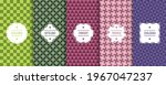 set of colorful seamless... | Shutterstock .eps vector #1967047237