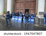 Naples Italy May 01 2021 Police ...