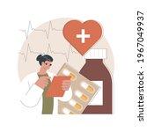 heart disease treatment... | Shutterstock .eps vector #1967049937