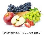 Mix Fruit. Pile Of Various...