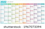 2022 Year Planner   Wall Planner