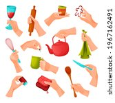 kitchen tools or utensils for... | Shutterstock .eps vector #1967162491