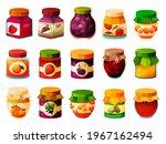 jam vector set  canning or... | Shutterstock .eps vector #1967162494