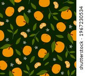 tropical seamless pattern with... | Shutterstock .eps vector #1967230534
