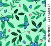 seamless pattern with ripe... | Shutterstock .eps vector #1967230537