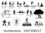 gautama buddha life story in... | Shutterstock .eps vector #1967308117
