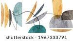 Organic Geometric Abstract Art  ...