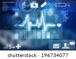 health data | Shutterstock . vector #196734077