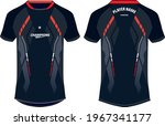 sports jersey t shirt design... | Shutterstock .eps vector #1967341177