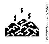 landfill gas biogas glyph icon... | Shutterstock .eps vector #1967369521