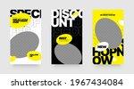 stories template set for banner ...   Shutterstock .eps vector #1967434084