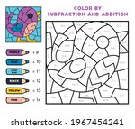 color by addition and...   Shutterstock .eps vector #1967454241