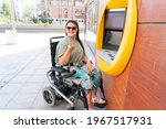 young happy disabled...   Shutterstock . vector #1967517931