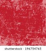 abstract vector grunge... | Shutterstock .eps vector #196754765