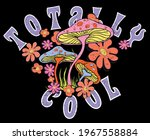 totally cool slogan print with... | Shutterstock .eps vector #1967558884