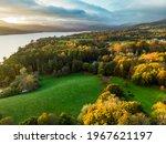 Aerial View Of Windermere Lake  ...