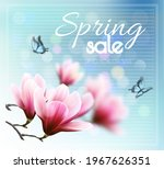 nature spring background with... | Shutterstock .eps vector #1967626351