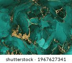 black and green watercolor...   Shutterstock .eps vector #1967627341