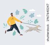 cartoon vector illustration of... | Shutterstock .eps vector #1967640247