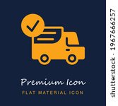 delivery truck premium material ...