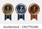 1st  2nd  3rd sports awards... | Shutterstock .eps vector #1967751481