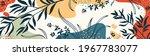 botanical banner with organic... | Shutterstock .eps vector #1967783077