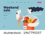 discounts  sale  promotion  web ... | Shutterstock .eps vector #1967795257