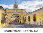 antigua  guatemala   april 22   ... | Shutterstock . vector #196782161