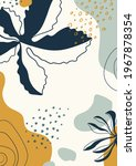 abstract organic vector shapes  ... | Shutterstock .eps vector #1967878354