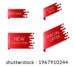 new ribbon banners. big flash... | Shutterstock .eps vector #1967910244