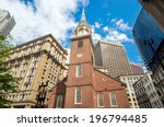 The Old South Meeting House In...