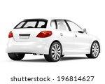 Stock photo  d generic designed car 196814627