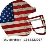 helmet of american football... | Shutterstock . vector #1968323017