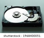 Close Up Photo Of A Hard Disk...