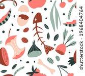 organic elements seamless... | Shutterstock .eps vector #1968404764