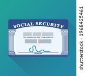 american security card with its ... | Shutterstock .eps vector #1968425461