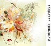 abstract vector illustration...   Shutterstock .eps vector #196845911
