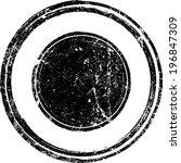 grunge rubber stamp  | Shutterstock .eps vector #196847309