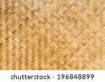 bamboo texture and background | Shutterstock . vector #196848899