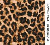 animal skin leopard seamless... | Shutterstock .eps vector #1968496204