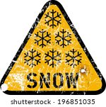 auto,blizzard,car,fall,grungy,heavy,highway,ice,icy,road,roadsign,season,sign,snow,storm
