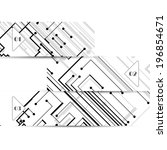 vector web element for your... | Shutterstock .eps vector #196854671