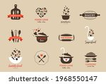 bakery  pastry shop  food and... | Shutterstock .eps vector #1968550147
