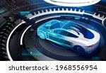 futuristic car technology...