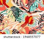 pattern of a tropical artwork ... | Shutterstock .eps vector #1968557077