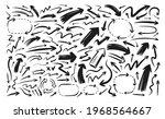 set of vector arrows.... | Shutterstock .eps vector #1968564667