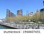 Seen Manhattan From Staten...